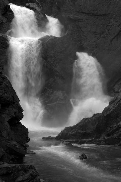 Lower Bugaboo Falls