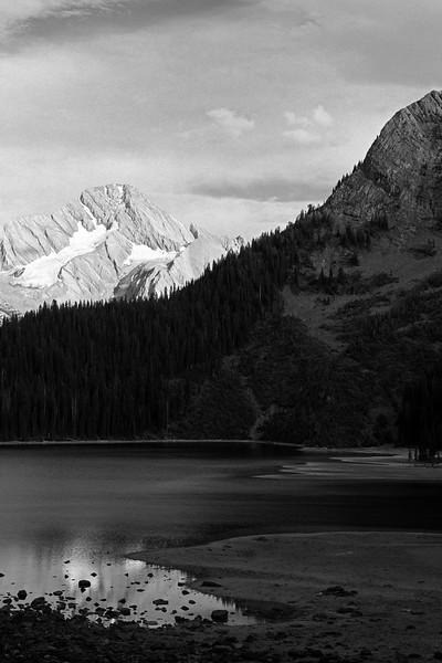 Leman Lake and Mount Sir Douglas