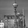 Tårn. Tower. <br /> Dronning Louises Bro set mod Nørrebro.