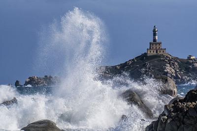 Leuchtturm auf Isola dei Cavoli, Sardinien