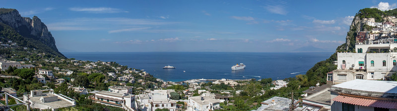 Blick gegen Norden | Looking towards the North, Capri