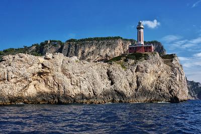 Leuchtturm, Capri