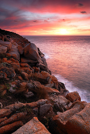 Cape Willoughby, Kangaroo Island, South Australia.