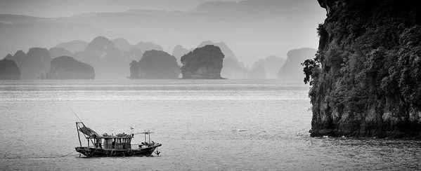 Anchered at Halong Bay