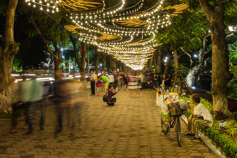 Hanoi pavement