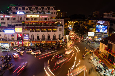 Hanoi Night Traffic