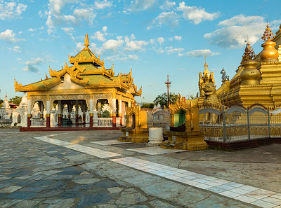 Golden Kuthodaw pagoda