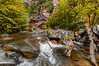 Rapids along Oak Creek in Sedona, AZ