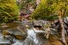 Rapids along Oak Creek in Sedona, AZ