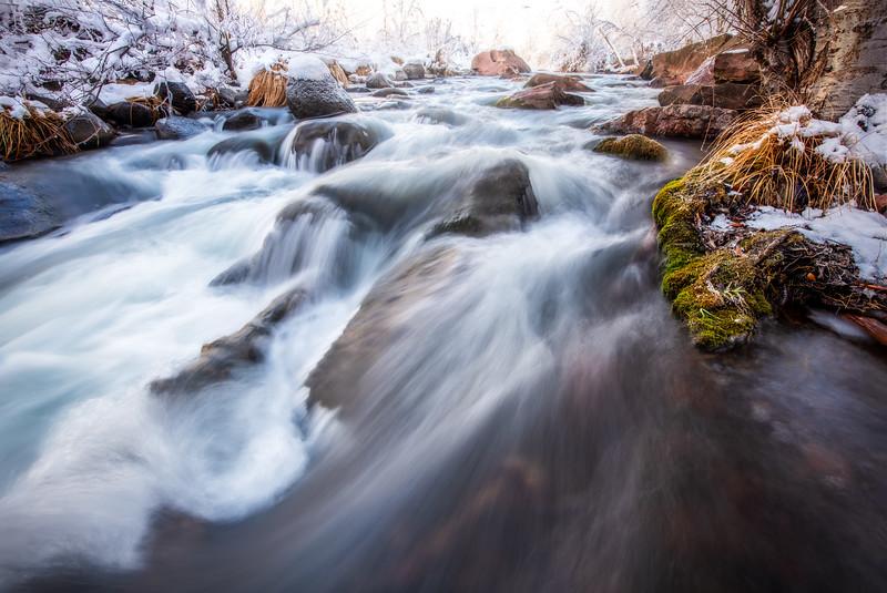 Flowing