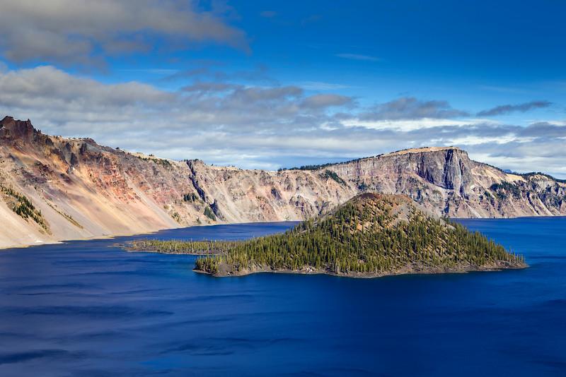 Wizard Island, Crater Lake, Oregon