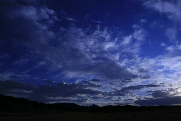 Skyscape over Nogal Peak, New Mexico