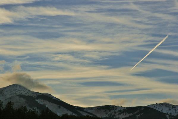 Sierra Blanca skyscape, Ruidoso, NM