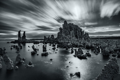 Mono Lake in Moonlight