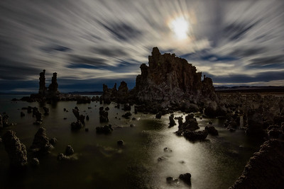 Moonlit Tufas, Mono Lake