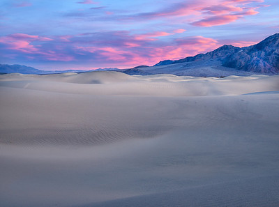 Sunset over Dunes, Death Valley