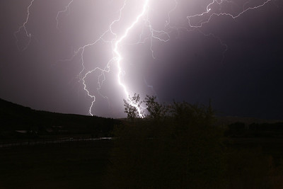electrical storm shot from office sunday night.