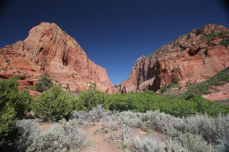Zion NP - Kolob Canyon section - 2007