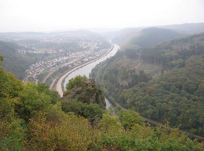 Saarhölzbach, wandeling maandag