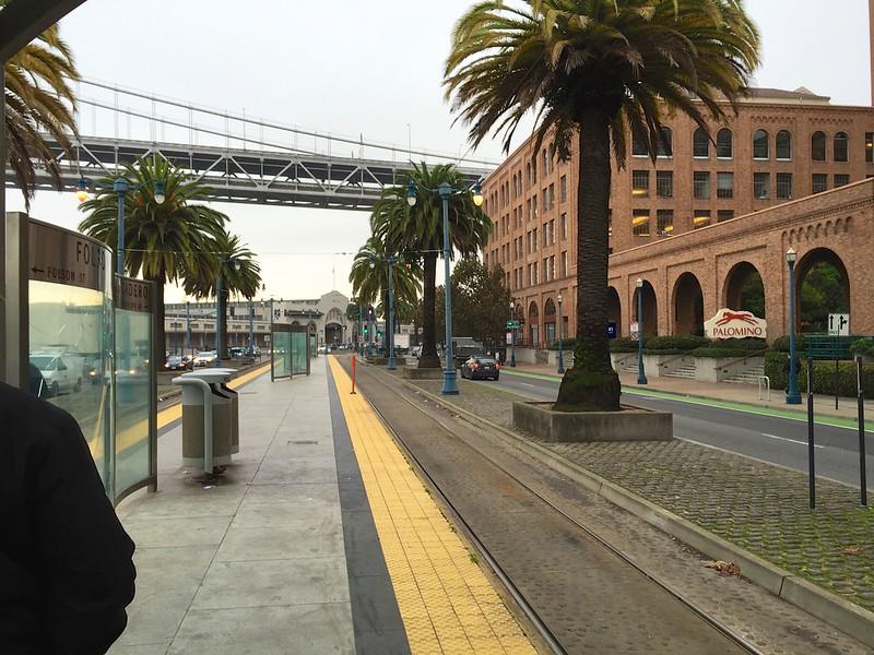 Shot from the Folsom Street Light Rail Platform<br /> San Francisco 2014-12-09 at 08-15-41