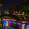 """Holiday Lights along the River Walk"" San Antonio, Texas"