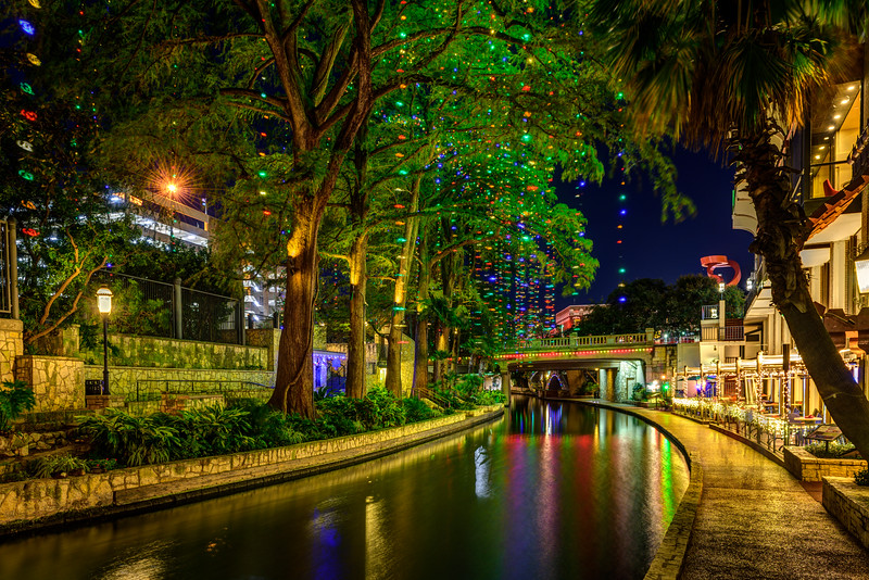 san antonio riverwalk river_walk holiday lights christmas lights