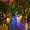"""Holiday Lights along the Riverwalk"" San Antonio, Texas"