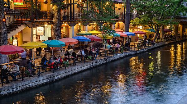 Riverwalk, San Antonio, TX, night shot.  Taken with a Nikon D600, f/13, 1.6 sec., ISO 640, Nikon 50mm f/1.8 lens with tripod.