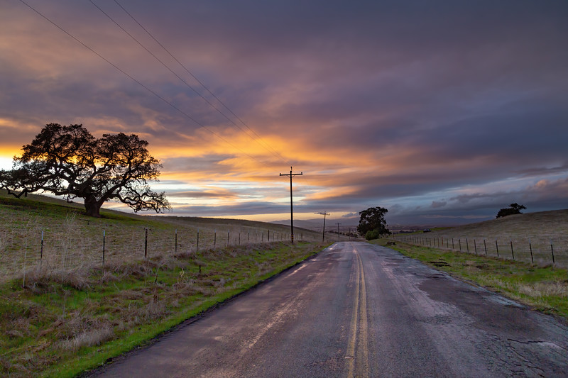 Santa Ana Valley Rd. San Benito County