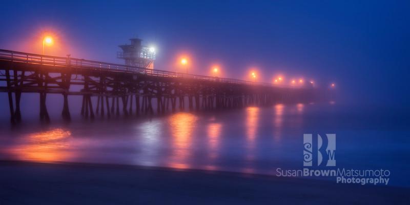 San Clemente Pier Blue Hour Final 20x10