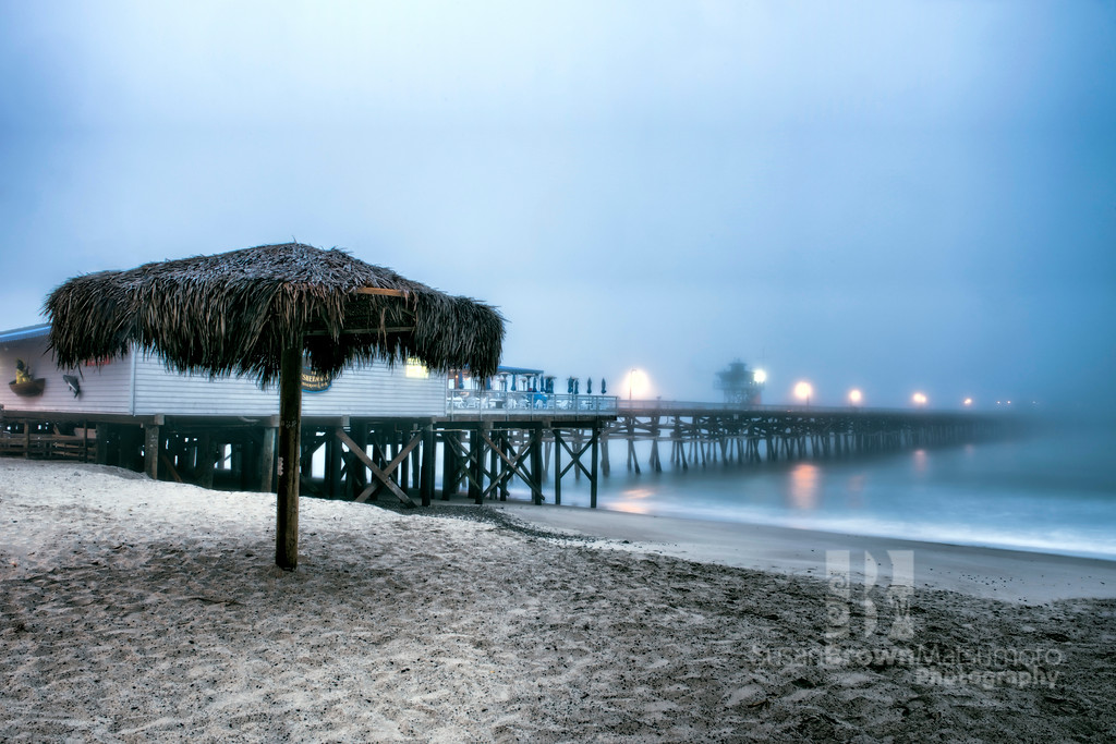 San Clemente Pier with Umbrella