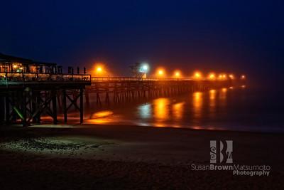 San Clemente Pier Blue Hour  Final