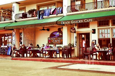 Beach Garden Cafe Final 12x18 II