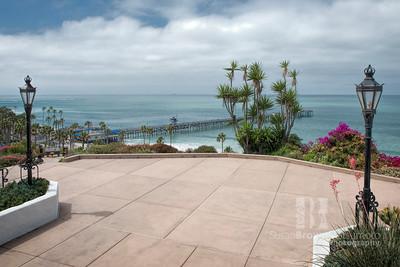 Casa Romantica overlooing San Clemente Pier