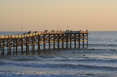 Crystal Pier in San Diego