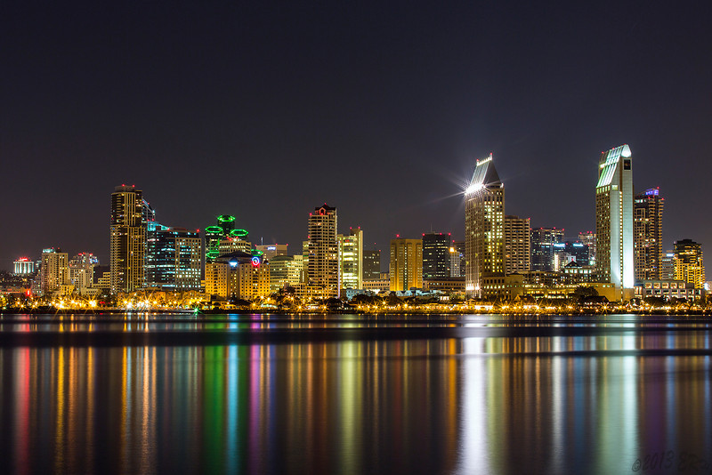 Just another skyline shot from last night.