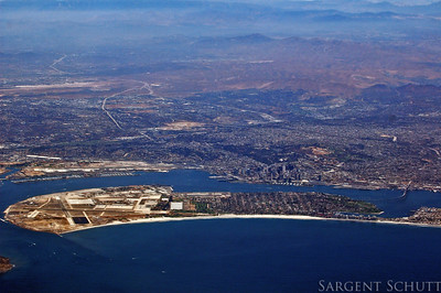 Coronado, from the air