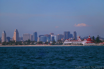 Coronado, from the sea