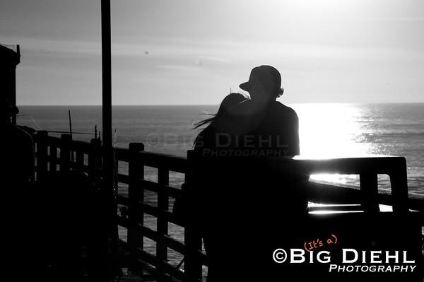 Oceanside Pier, Oceanside California.