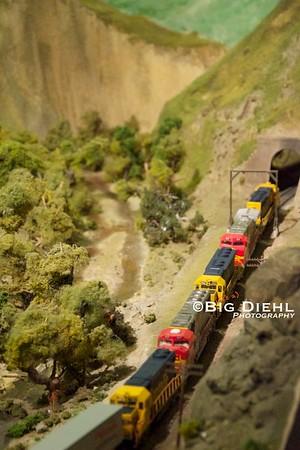 "San Diego Model Railroad Museum, ""Tehachapi Pass"""