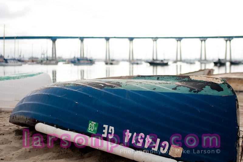Tidelands Beach Boat