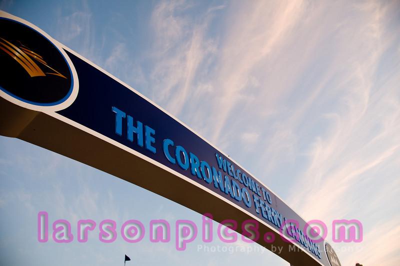 Coronado Welcome Sign