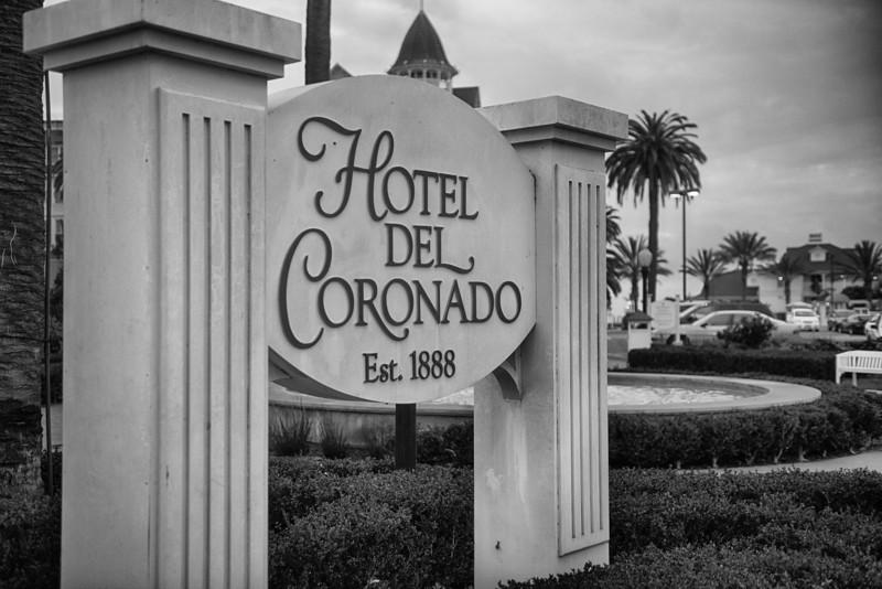 Del Coronado Sign