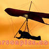 Hang Glider at Sunset