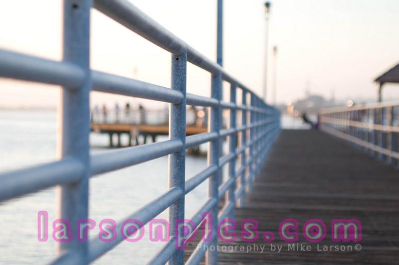 Abstract Shot of Coronado Pier
