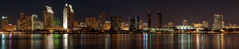 San Diego Skyline Panoramic.