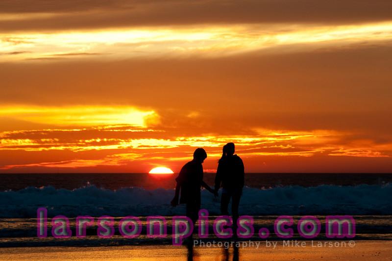 Coronado Beach Sunset