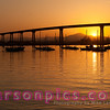 Coronado Bay Bridge at Sunrise