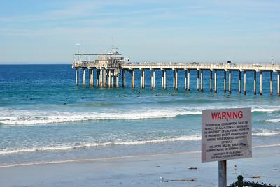Scripps Pier, No Surf