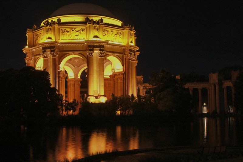 Palace of Fine Arts Jan 2010